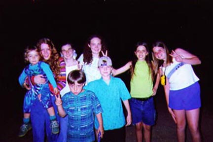 1999 Fun at Night at Old Camp Sequoyah, in Mountain of North Caroina